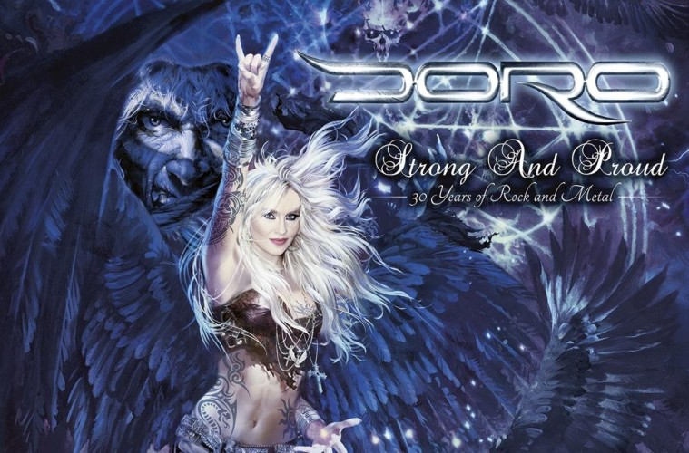 doro strong and proud_cover