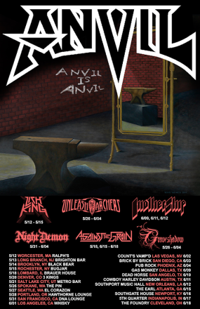 anvil is anvil tour