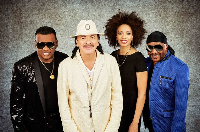 Santana The Isley Borthers